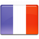 Frankrijk reizen over de wereld bestemming vlag