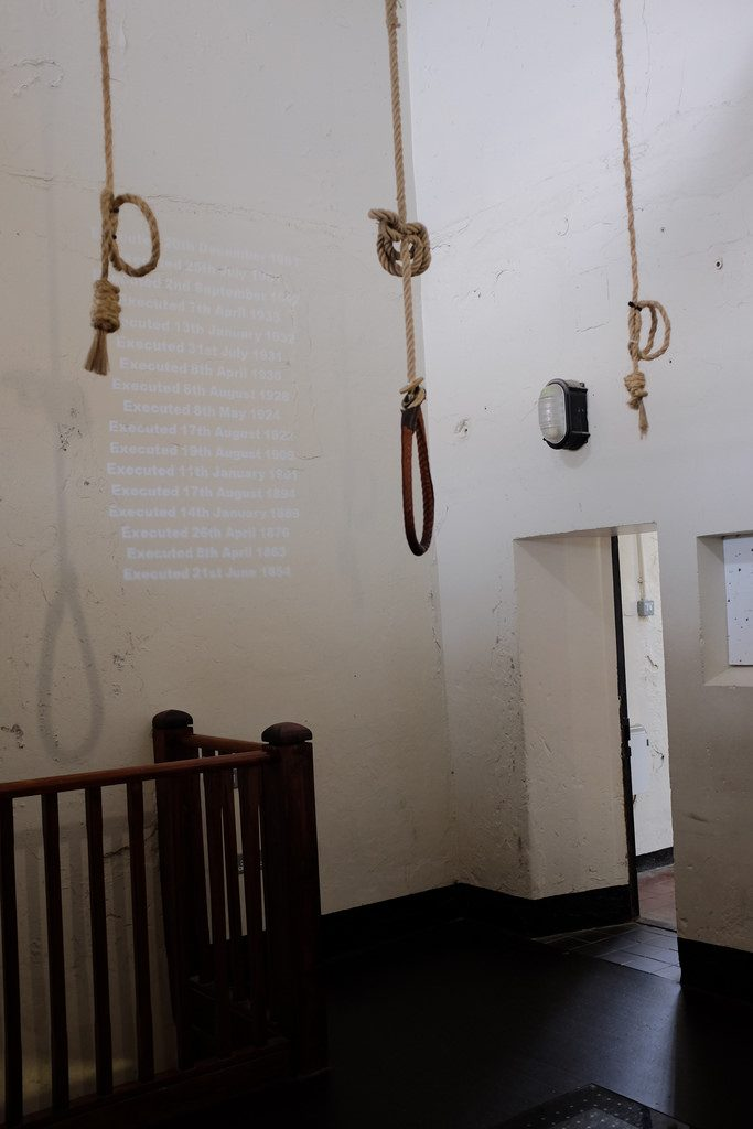 Galg Crumlin Road Gaol gevangenis Belfast