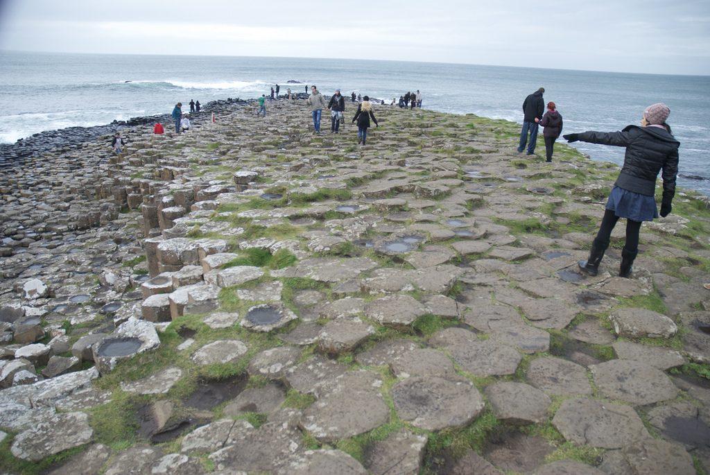 Giant's Causeway basaltkolommen