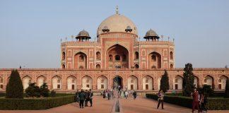 Humayuns tombe inspiratie voor de Taj Mahal