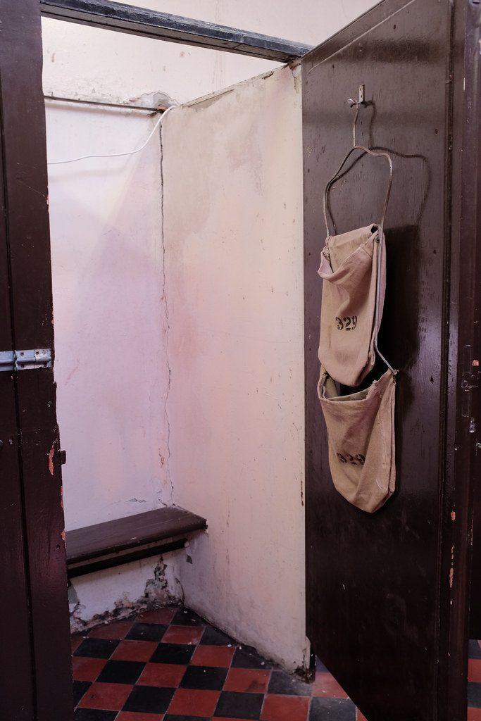 Ontvangstruimte gevangenen Crumlin Road Gaol gevangenis Belfast