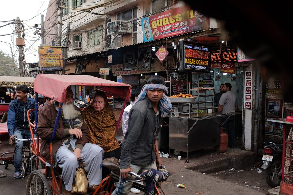 Rickshaw in Old Delhi
