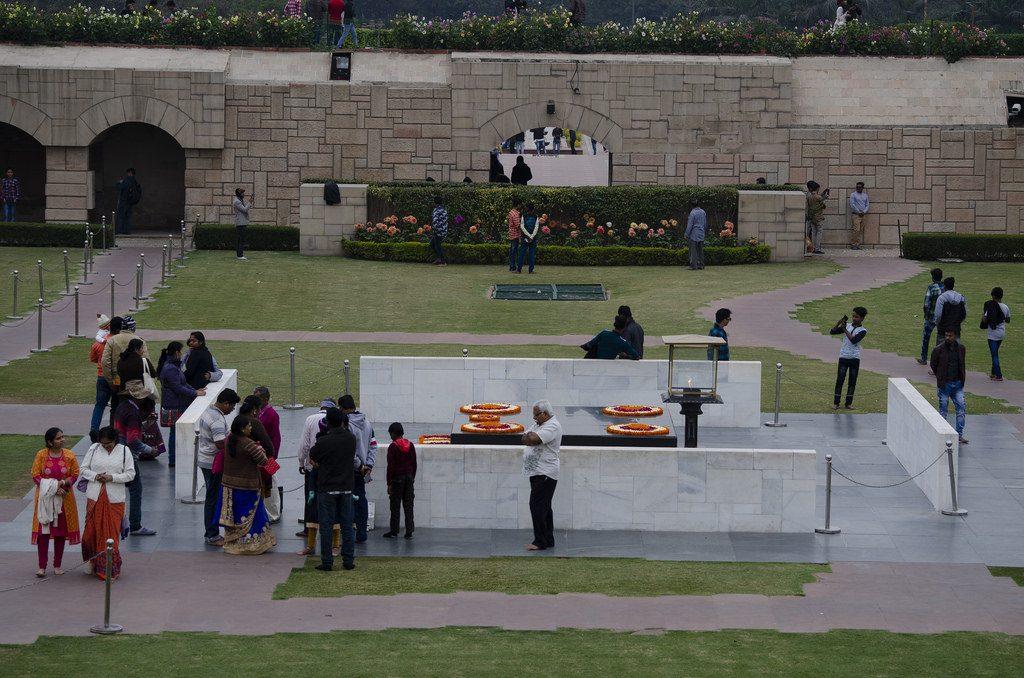 Vlam Gandhi New Delhi bezienswaardigheden