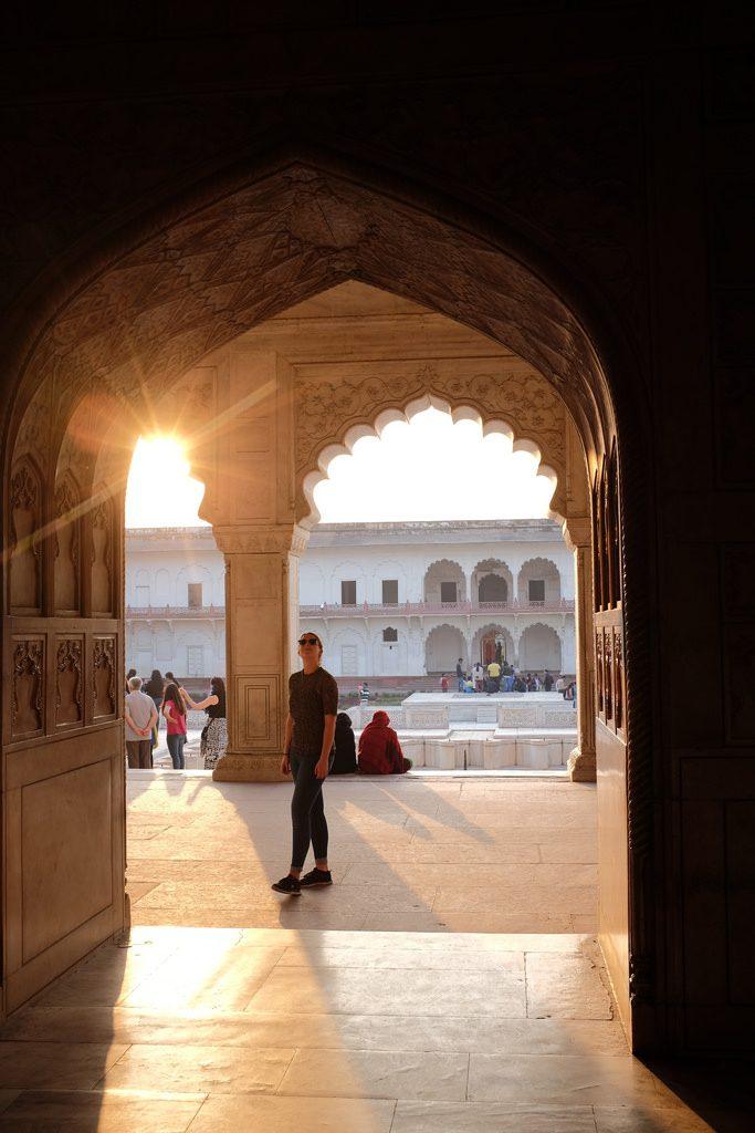 Agra Fort bezienswaardigheden Noord-India