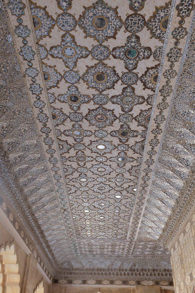 Amber fort plafond