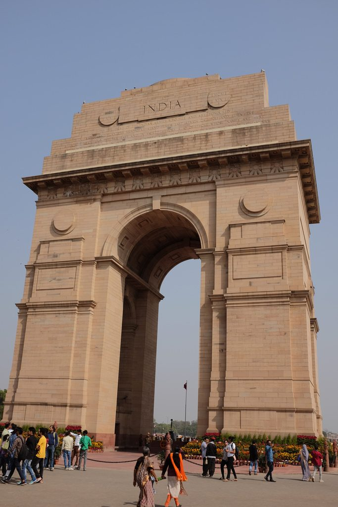 architectuur New Delhi India Gate