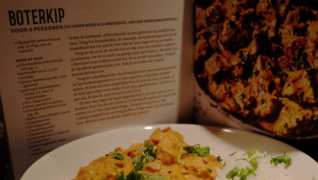 recept boterkip The Curry Guy