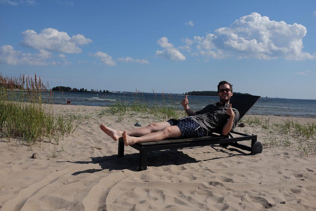 Hoogtepunten Zweeds Lapland zomer strand Pite Havsbad