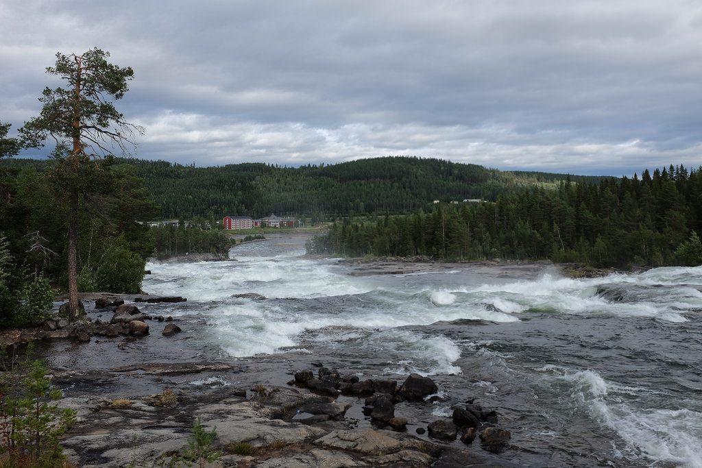 Storforsen Zweeds Lapland zomer