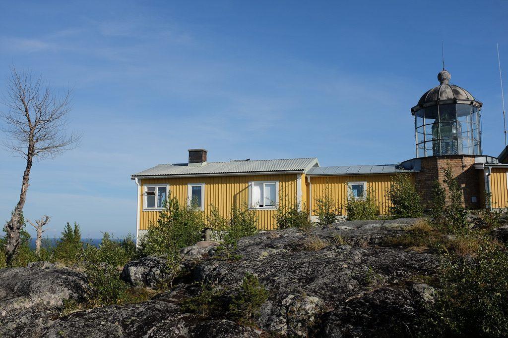 Zweeds Lapland vuurtoren