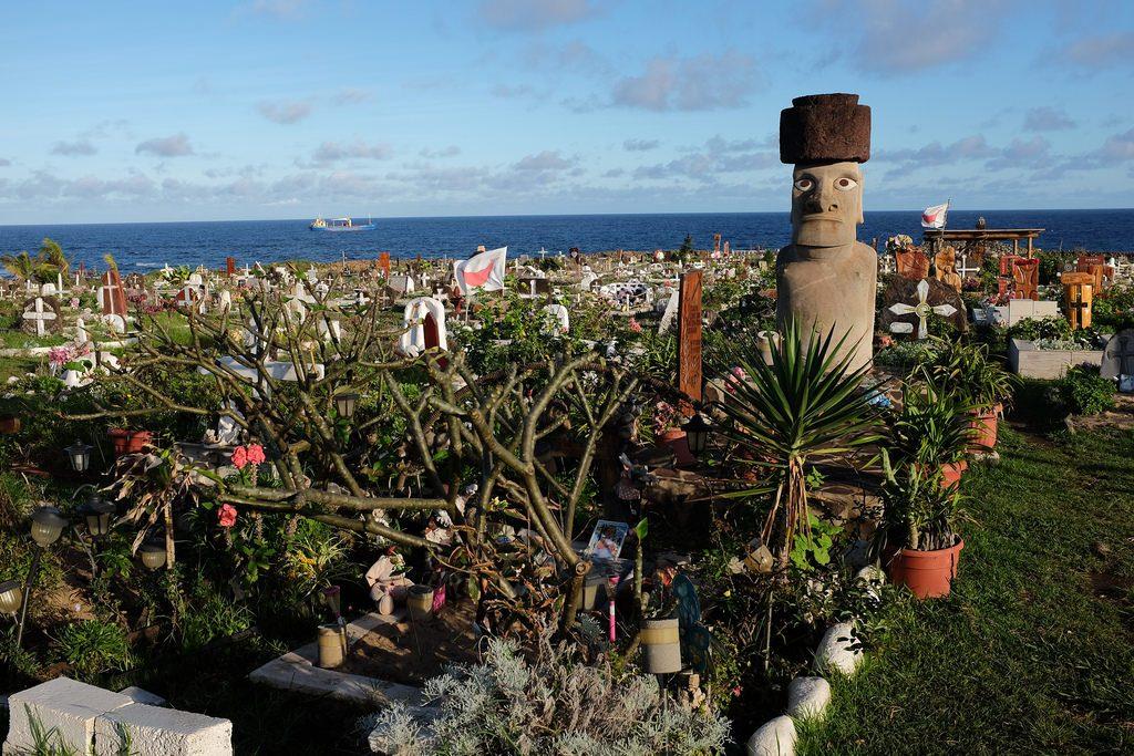 Begraafplaats Paaseiland bezoeken