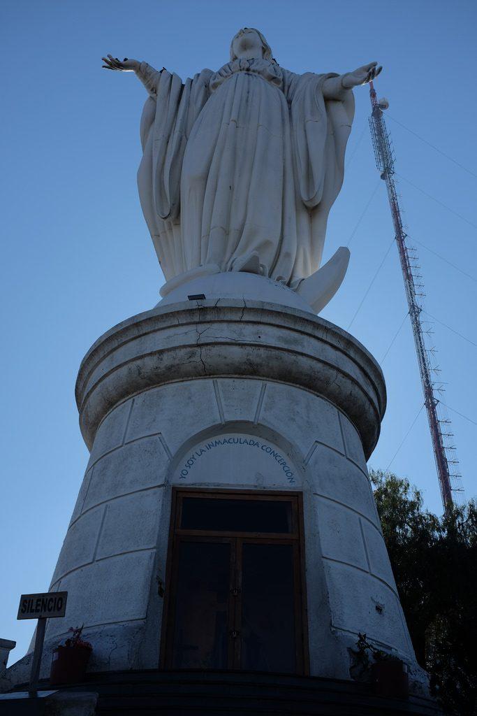 Doen in Santiago de Chile: De religieuze berg San Cristóbal