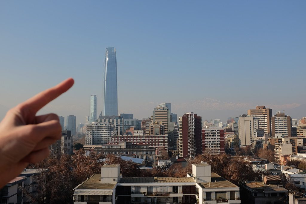 Hoogtepunten van Santiago de Chile: Sky Costanera