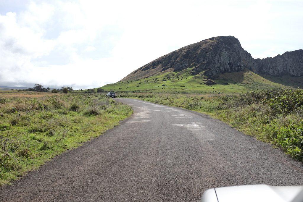Met de auto over Paaseiland