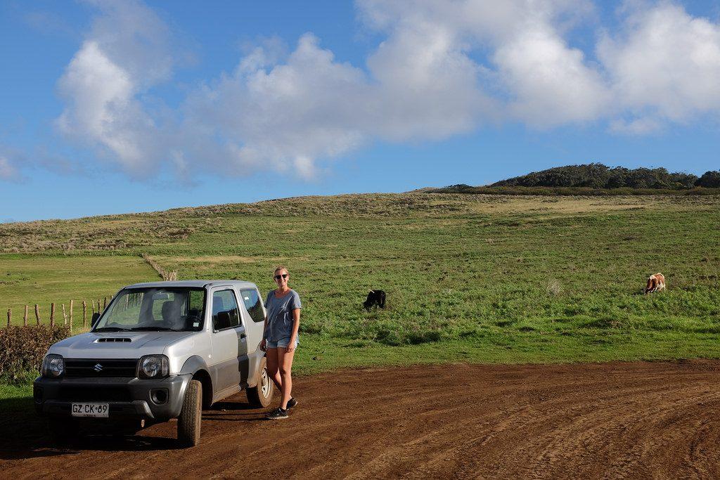 Met een 4x4 jeep Paaseiland bezoeken