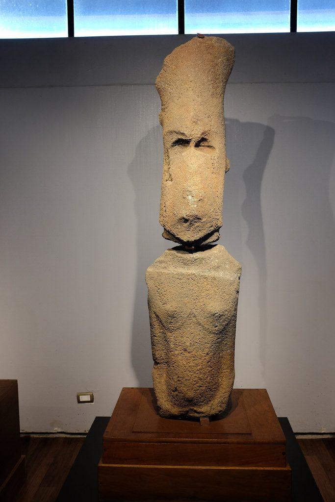 Museum Paaseiland Sebastian Englert Museum vrouwelijke Moai