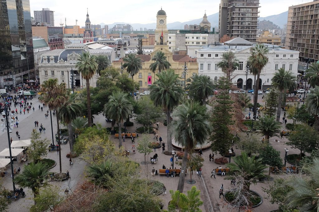Plaza Armas Santiago de Chile off the beaten track