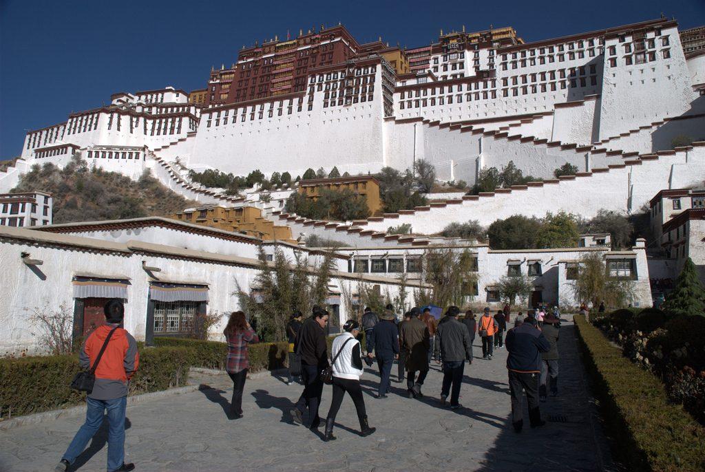 Potala Palace hoogtepunten Tibet China
