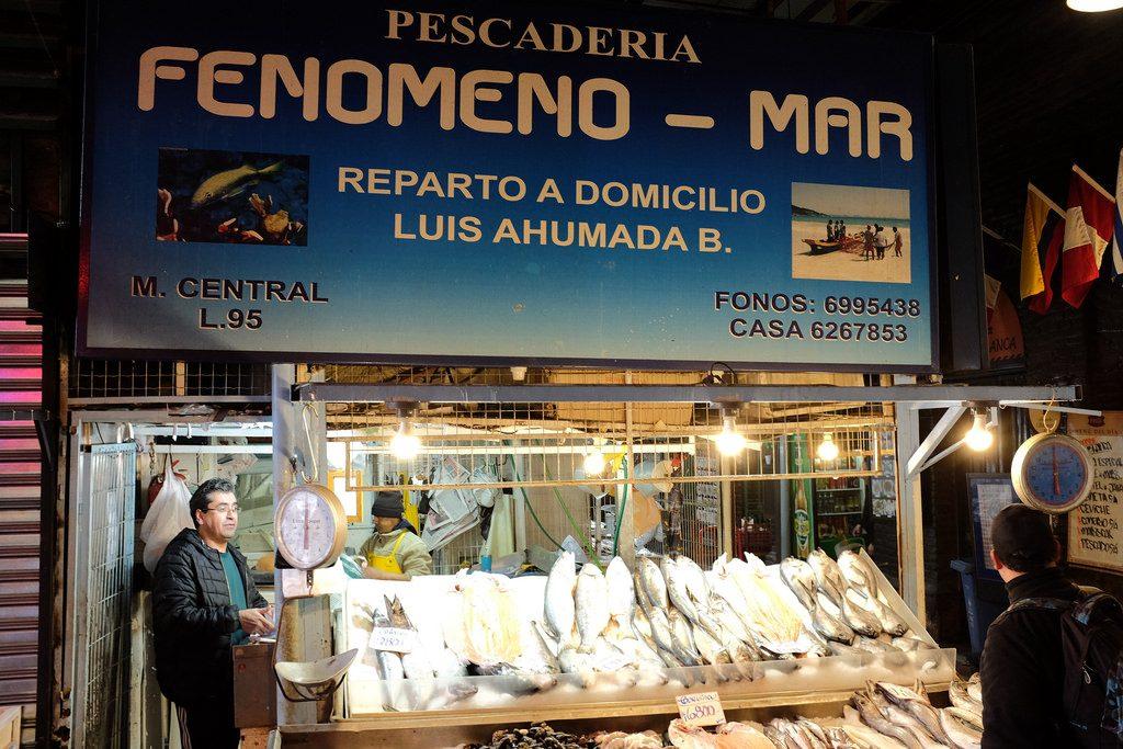 Vismarkt Santiago de Chile