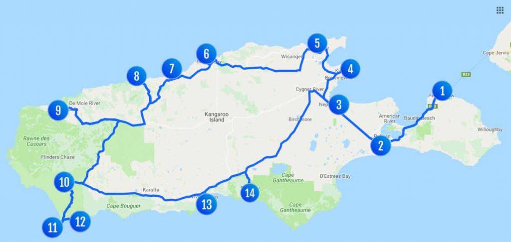 kangaroo island bezienswaardigheden mini reisgids australie jpg