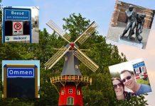 Alle plekken van Nederland bezoeken stel omslagfoto