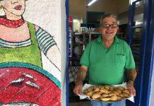 Stratis van restaurant Kismet Grieks eiland Lesbos lekker eten