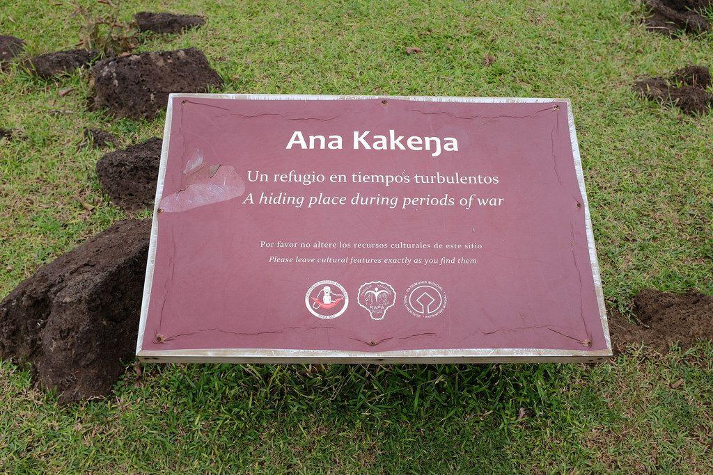Ana Kenenga bord Paaseiland