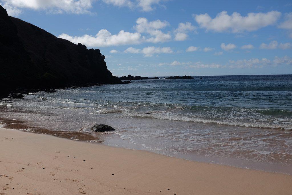Ovahe Beach uitzicht Paaseiland
