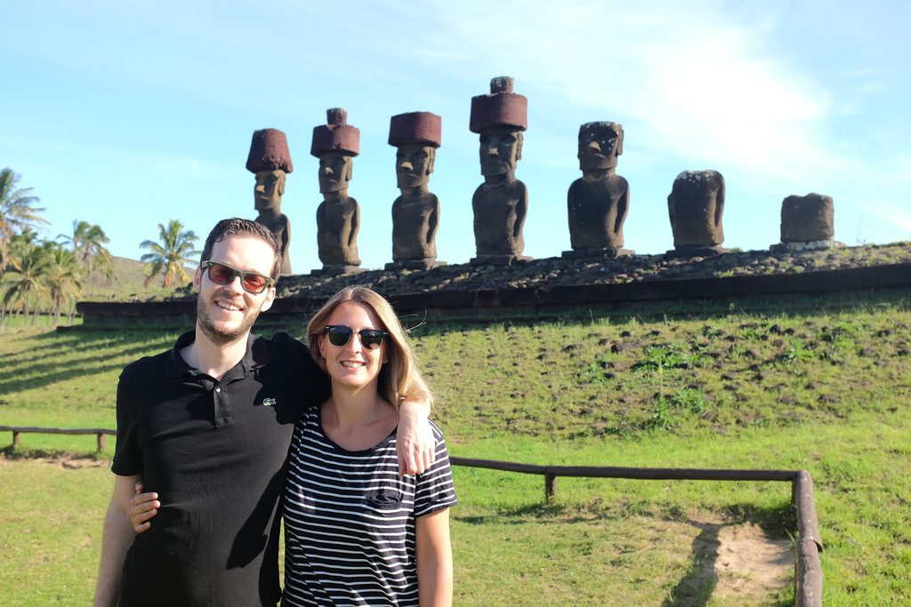 Reizen over de Wereld voor Ahu Nau