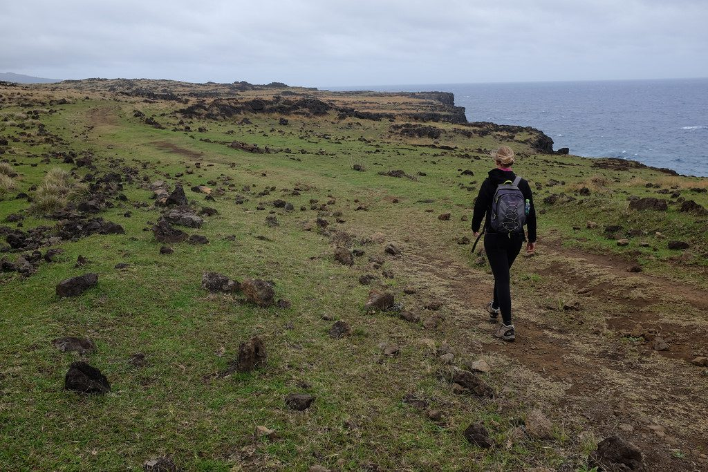 Wandelen of hiken op Paaseiland