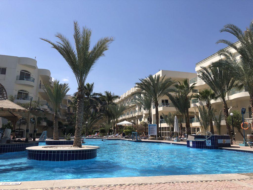 Bellavista zwembad Hurghada Egypte