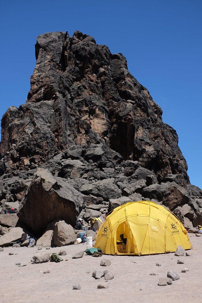Lava Tower Kilimanjaro beklimming