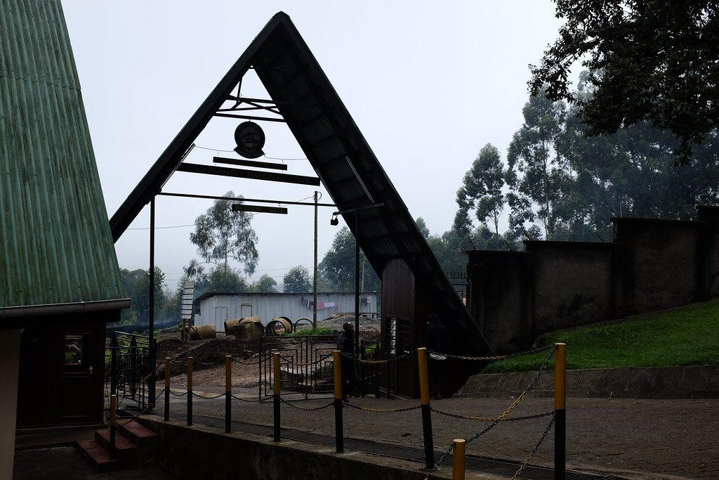 Machame Gate het startpunt van de Machame Route