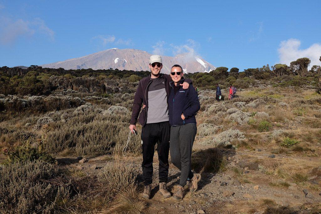 Reizen over de Wereld voor de Kilimanjaro