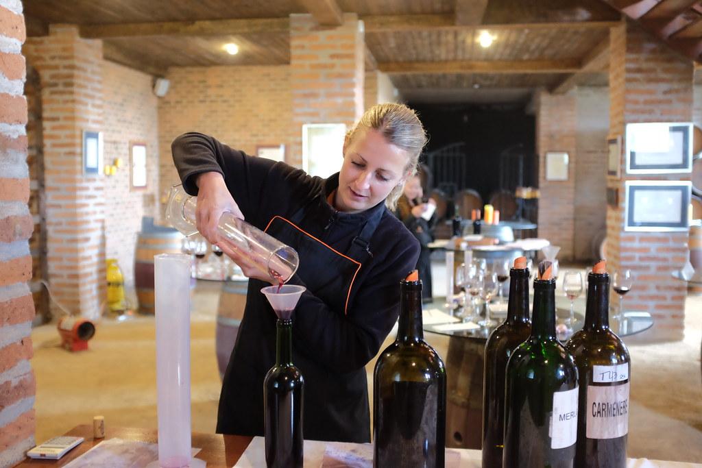 Suus maakt haar eigen wijn