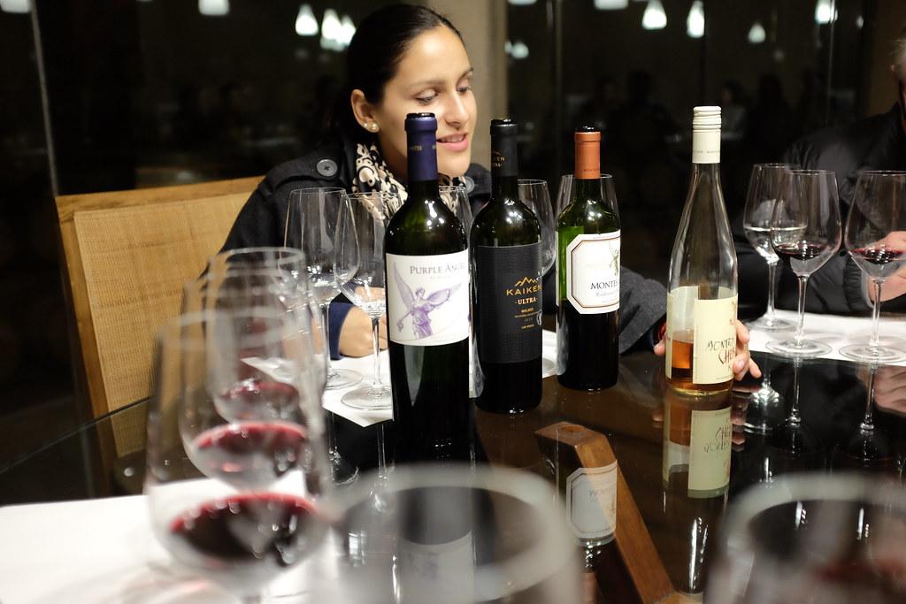 Wijn proeven bij Montes
