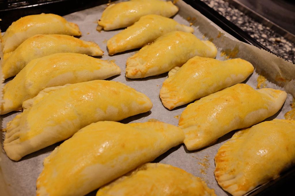Empanadas uit de oven