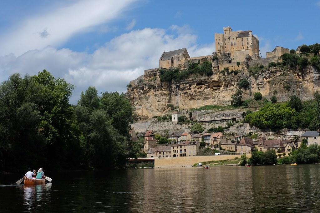 Kanovaren in de Dordogne