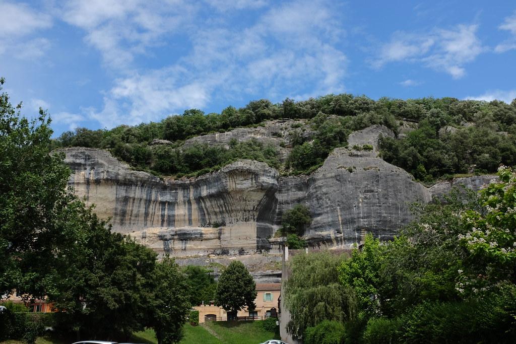 Les Eyzies in Zuid-Frankrijk