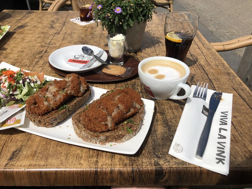 Lunch in Viva La Vink (voet van Keutenberg)