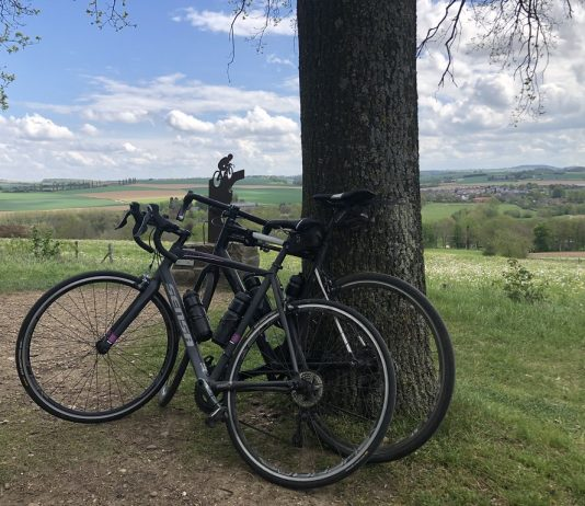 Top van Gulperberg Limburg fietstoerist